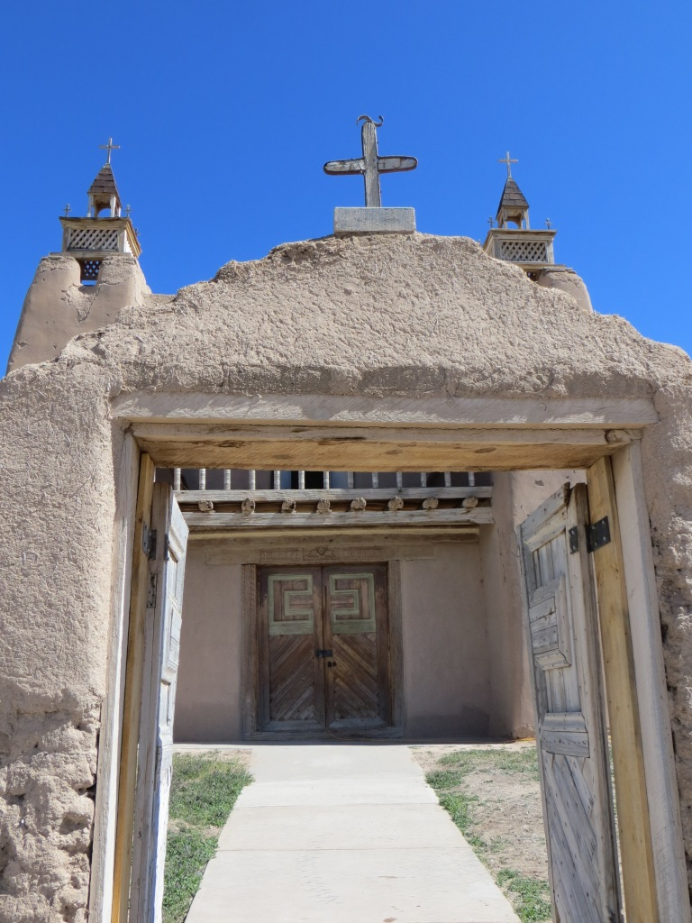 The Church of San Jose de la Gracia, Las Trampas, NM
