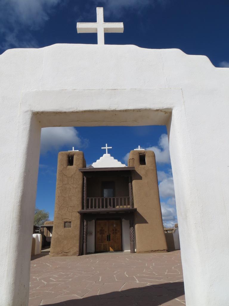 San Geronomio Chapel, Taos Pueblo, Taos, NM