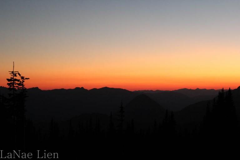 Sunset at Paradise, cookdrinkhike.wordpress.com